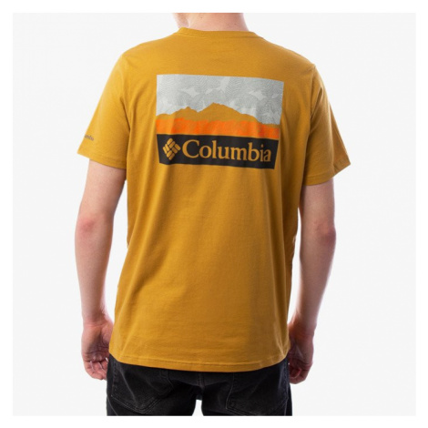Koszulka męska Columbia M Rapid Ridge™ Back Graphic 1888863 734