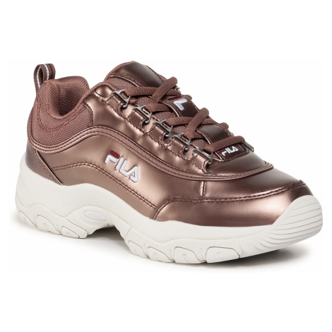 Sneakersy FILA - Strada F Wmn 1010891.31A Chocolate Brown