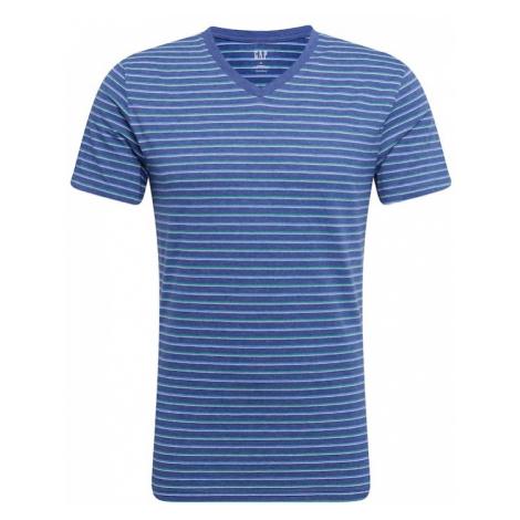 GAP Koszulka 'V-EVERYDAY V STP' kobalt niebieski / biały