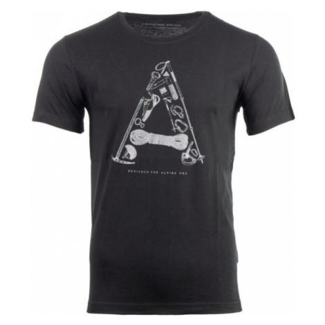 ALPINE PRO TITAN czarny S - Koszulka męska