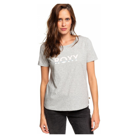 T-shirt Roxy Red Sunset Corpo - SGRH/Heritage Heather