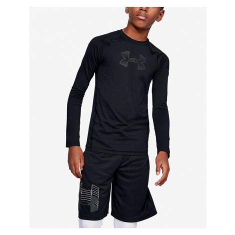 Under Armour HeatGear® Armour Koszulka dziecięce Czarny