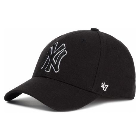Czapka z daszkiem 47 BRAND - New York Yankees B-MVPSP17WBP-BKC Black