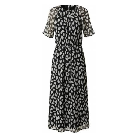 JACQUELINE de YONG Letnia sukienka 'SALLY' czarny / brązowy