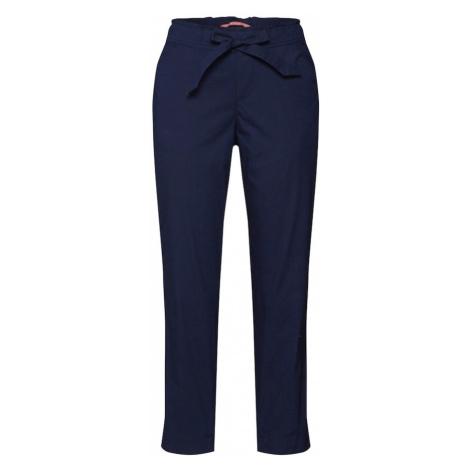 STREET ONE Spodnie 'LTD QR Bonny Papertouch' ciemny niebieski
