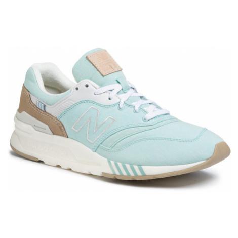 New Balance Sneakersy CW997HBE Zielony