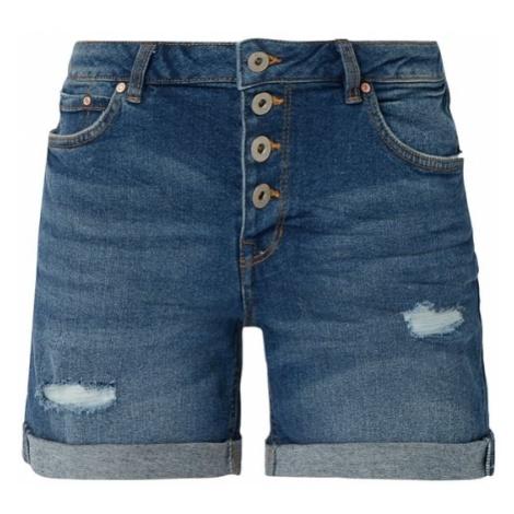 Szorty jeansowe z przetarciami Tom Tailor