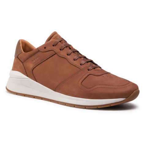 Sneakersy BOSS - Element 50432832 10227353 01 Medium Brown 219 Hugo Boss