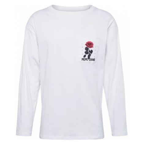 Pepe Jeans Koszulka 'KENT' ciemnozielony / czerwony / biały