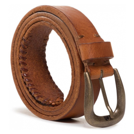 Wrangler Pasek Damski Looping Belt W0D8U1X81 Brązowy