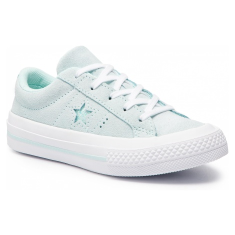 Tenisówki CONVERSE - One Star Ox 663590C Teal Tint/Teal Tint/White