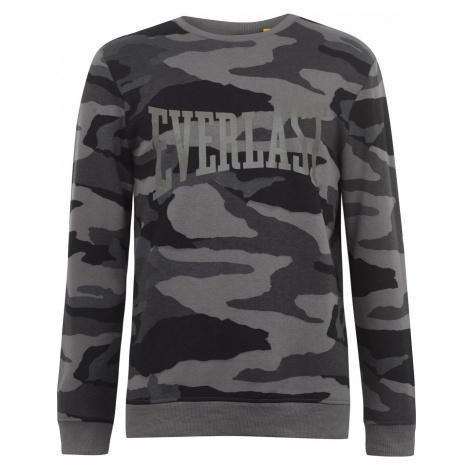 Everlast Camo Crew Sweater Mens