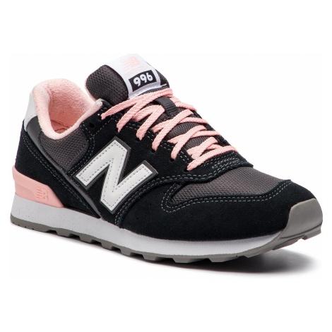 Sneakersy NEW BALANCE - WR996ACK Czarny Szary