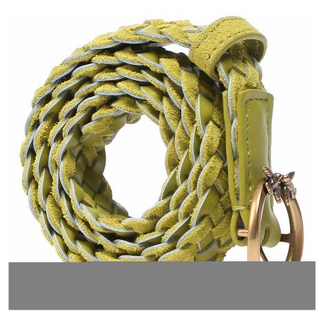Pasek Damski PINKO - Love Berry Small Woven Belt. PE 21 PLT01 1H20W3 Y6XK Yellow H17