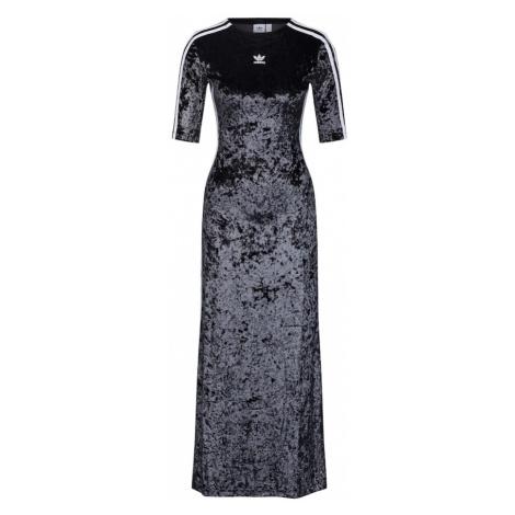 ADIDAS ORIGINALS Sukienka czarny / biały
