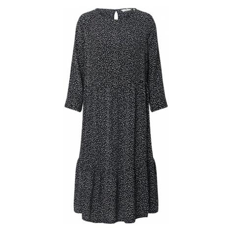TOM TAILOR Sukienka czarny / offwhite