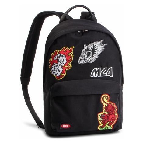 Plecak MCQ ALEXANDER MCQUEEN - Classic Backpack 494507 R4B85 1000 Darkest Black