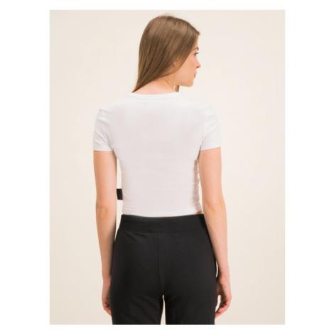 Versace Jeans Couture T-Shirt B2HVA720 Biały Regular Fit