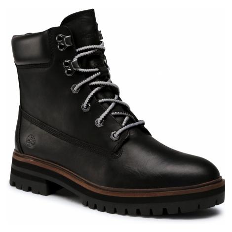 Trapery TIMBERLAND - London Square Boot TB0A1RCH0151 Black Full Grain