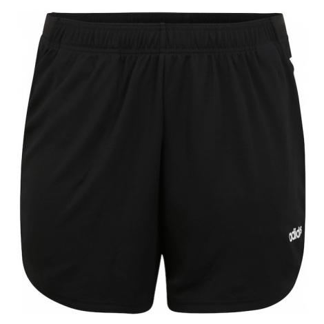 ADIDAS PERFORMANCE Spodnie sportowe 'W D2M INC' biały / czarny