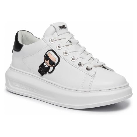 Sneakersy KARL LAGERFELD - KL62530 White Lthr