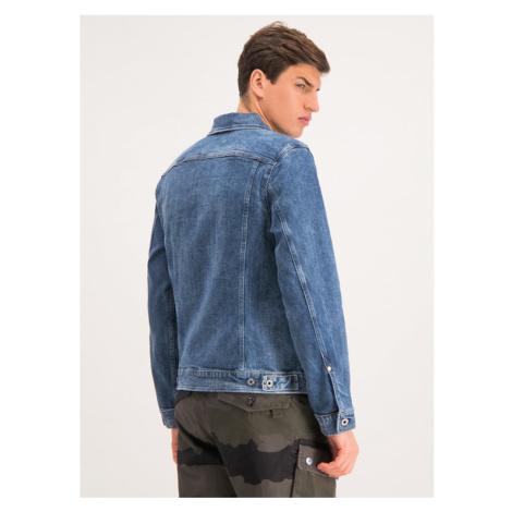 G-Star RAW Kurtka jeansowa Scutar D14499-A670-A572 Niebieski Slim Fit