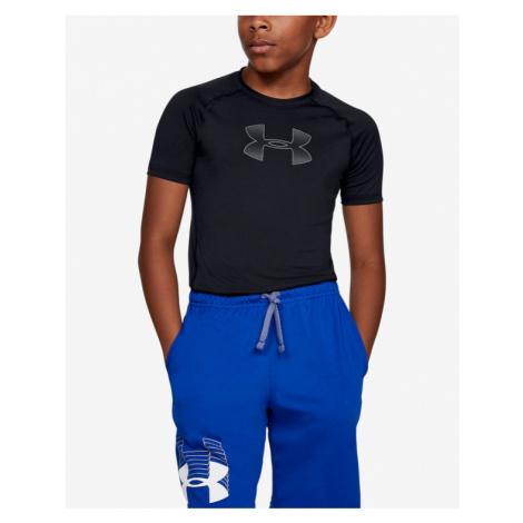 Under Armour HeatGear® Koszulka dziecięce Czarny
