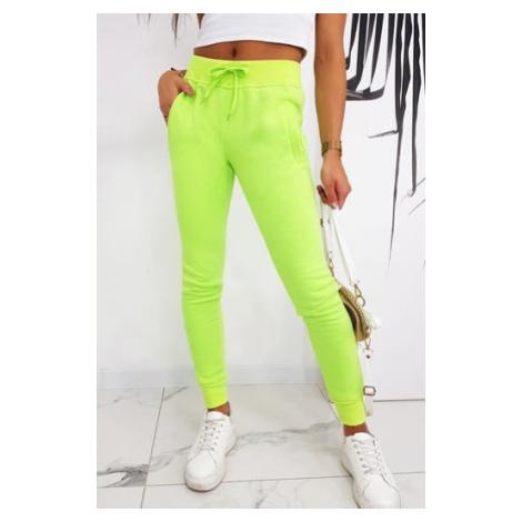 FITS women's sweatpants green UY0586 DStreet