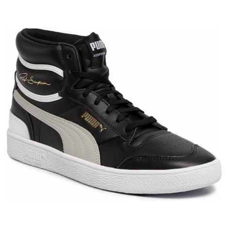 Sneakersy PUMA - Ralph Sampson Mid 370847 01 Puma Black/Gray Violet/Puma White