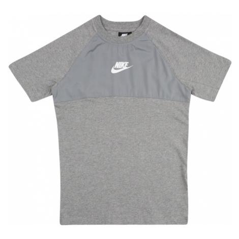 Nike Sportswear Koszulka nakrapiany szary