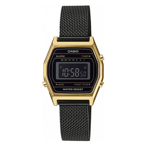 Zegarek CASIO - Vintage LA690WEMB-1BEF Black/Gold