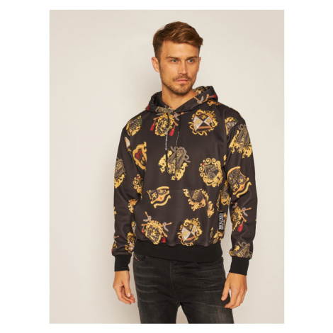 Versace Jeans Couture Bluza B7GZB704 Czarny Regular Fit