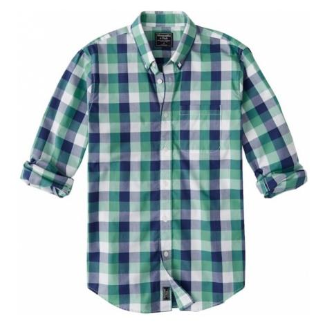 Abercrombie & Fitch Koszula 'CHECK POPLIN TRO' zielony
