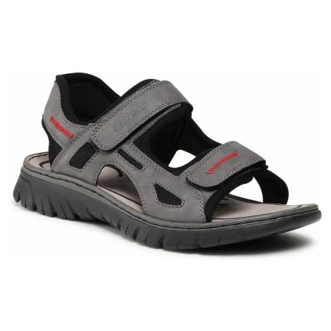 Sandały RIEKER - 26752-42 Grau