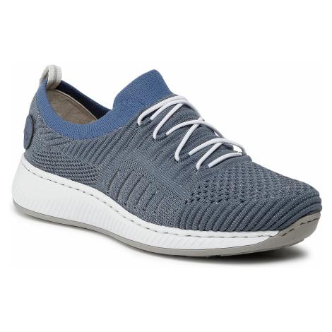 Sneakersy RIEKER - N5543-15 Blau