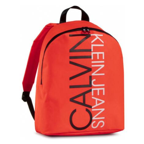 Calvin Klein Jeans Plecak Institutional Logo Backpack IU0IU00137 Pomarańczowy