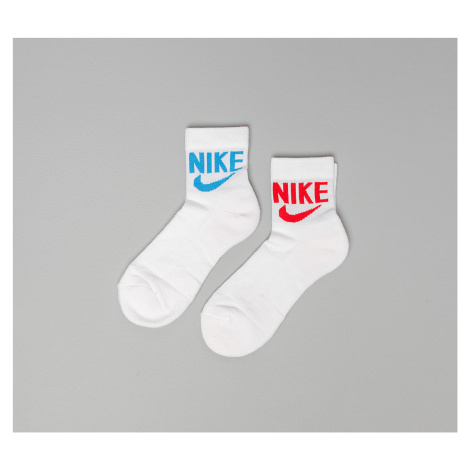 Nike Heritage Ankle Socks White