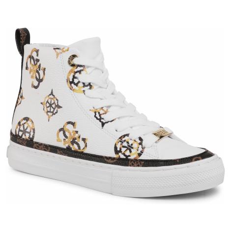 Sneakersy GUESS - Leksan FL8LEK FAL12 WHITE