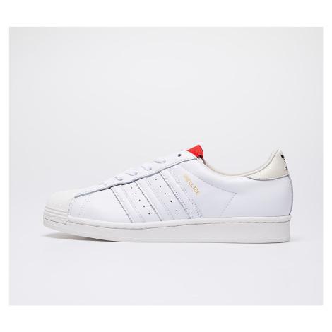 adidas x 424 Shelltoe Core White/ Core White/ Scarlet