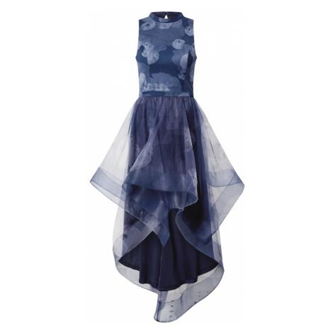 Chi Chi London Sukienka koktajlowa 'Farcia' podpalany niebieski / ciemny niebieski