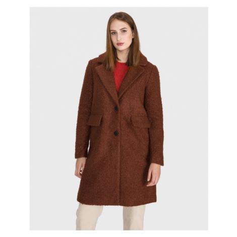 Vero Moda Cozy Diana Płaszcz Brązowy