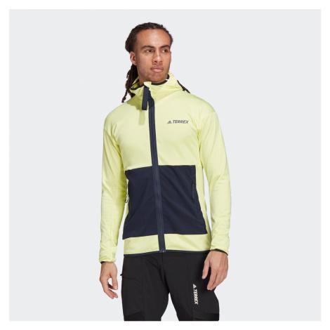 Adidas Terrex Tech Fleece Lekka kurtka turystyczna z kapturem Męska