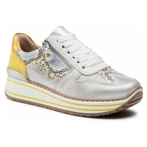 Sneakersy ARA - 12-32461-76 Yellow