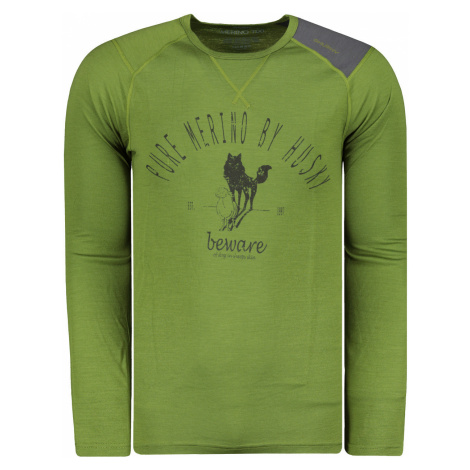 Men's t-shirt HUSKY MERINO 100 M SHEEP