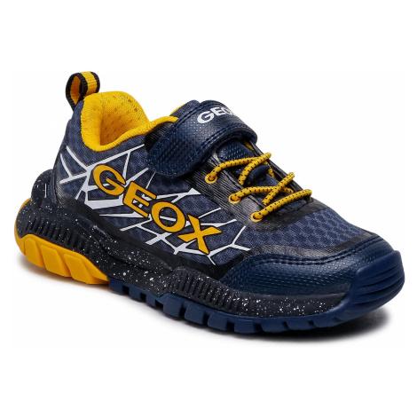 Sneakersy GEOX - J Tuono B. B J15AXB 014CE C0657 M Navy/Yellow
