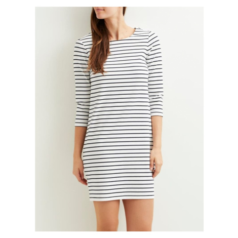VILA Sukienka 'Vitinny' niebieski / biały