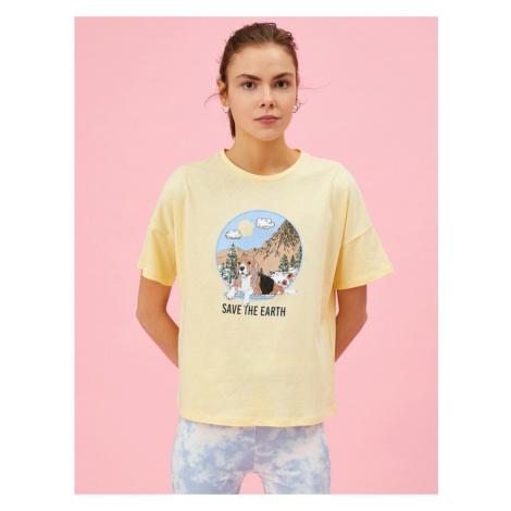 Koton Printed T-shirt Cotton