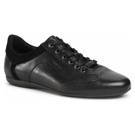 Sneakersy WOJAS - 10024-71 Czarny