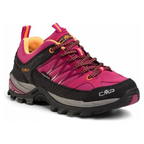 Trekkingi CMP - Rigel Low Wmn Trekking Shoes Wp 3Q54456 Bouganville/Goji 06HE