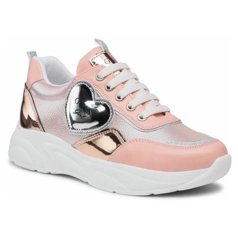Sneakersy GUESS - Claire FJ5CLR LEL12 ROSE